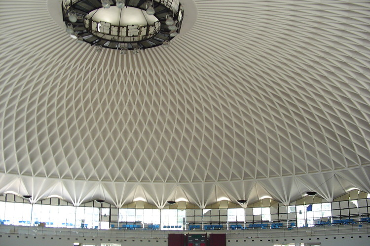 Em foco: Pier Luigi Nervi, Palazzetto dello sport. Image © <a href='https://www.flickr.com/photos/ihavegotthestyle/221174130'>Flickr user ihavegotthestyle</a> licensed under <a href='https://creativecommons.org/licenses/by/2.0/'>CC BY 2.0</a>