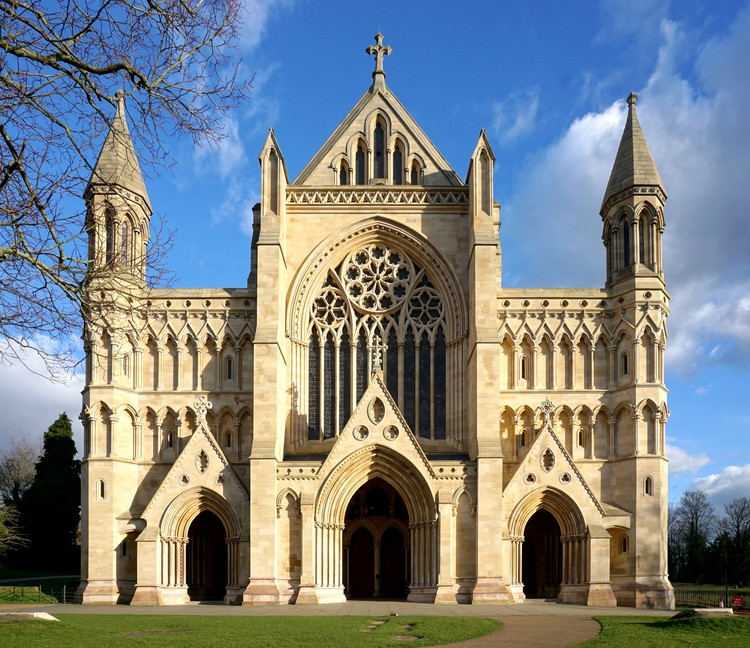st albans abbey richard griffiths architects richard griffiths