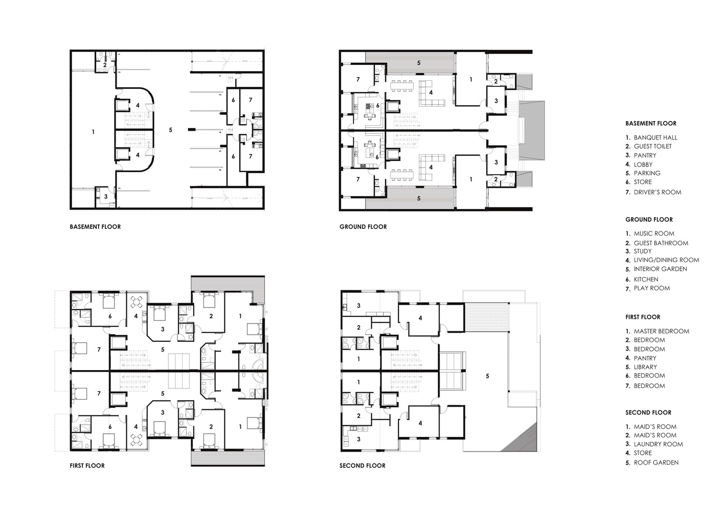Gallery Of A House In Yarmouk Studio Toggle 25