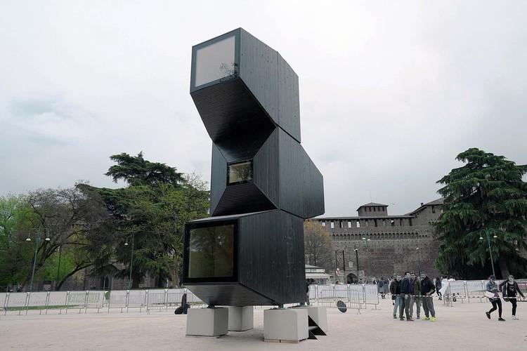 Unidad de vivienda / OFIS Architects, © Janez Martincic