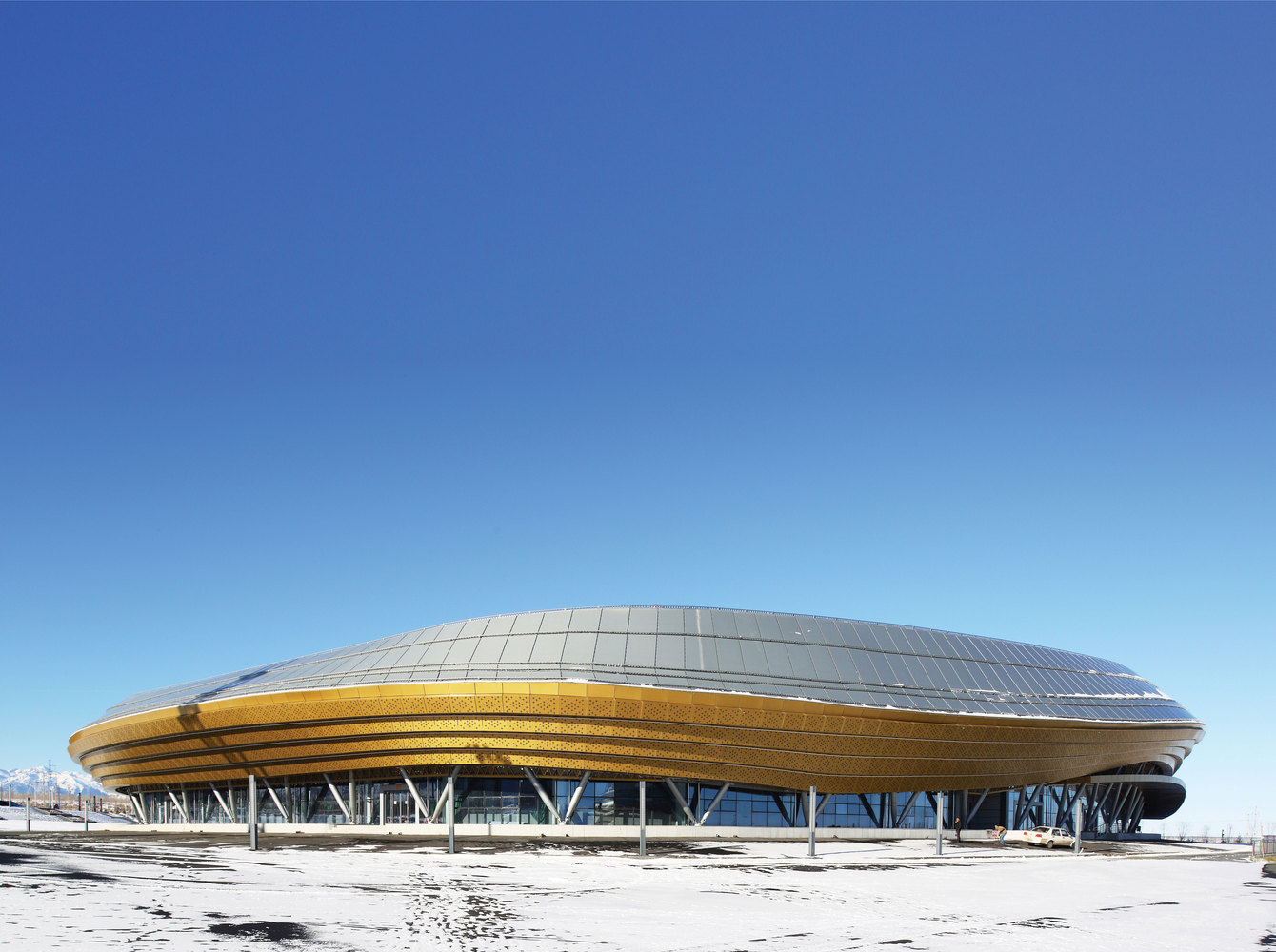 Ice Sports Center Of The 13th China National Winter Games,© Wei Shuxiang