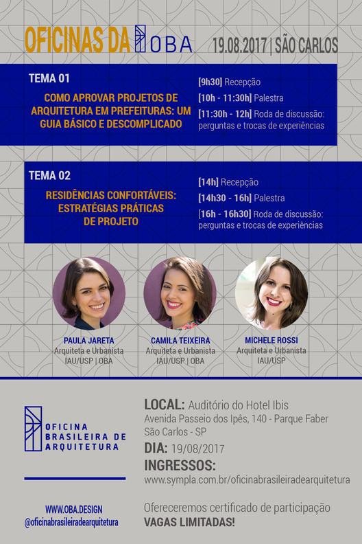 Oficinas da OBA: São Carlos | Edição 02.2017, Cartaz - Oficinas da OBA: São Carlos | Edição 02.2017