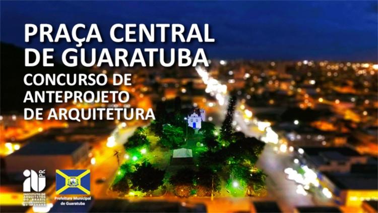 Concurso Público Nacional de Anteprojeto para o Agenciamento e Paisagismo da Praça Central de Guaratuba (PR), Divulgação