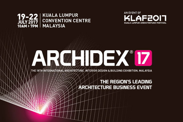 Gear Up For Asean's Leading Architectural Event, ARCHIDEX 17: BE PART OF SOMETHING BIG!