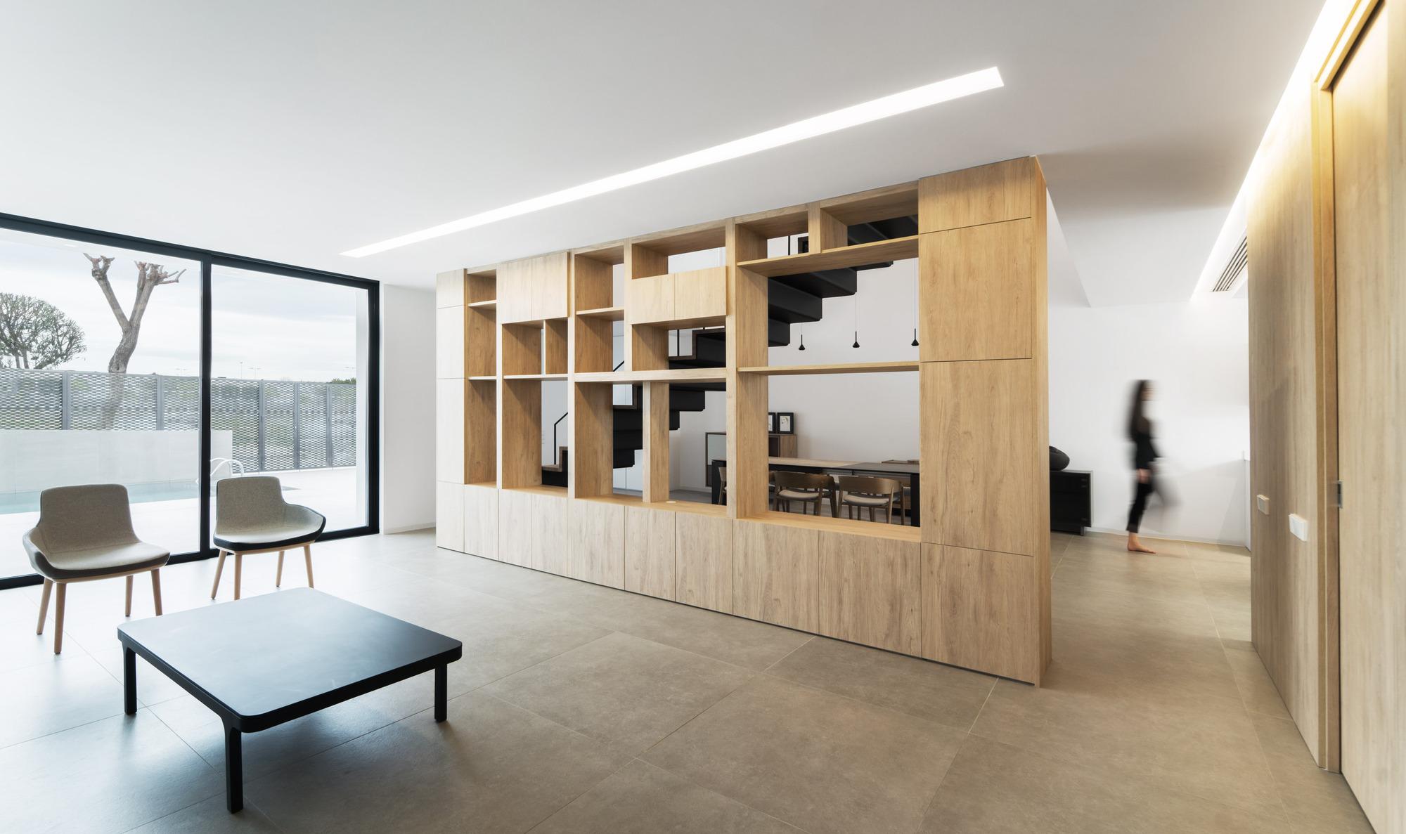 Gallery of brise soleil house rub n muedra estudio de - Estudio arquitectura valencia ...