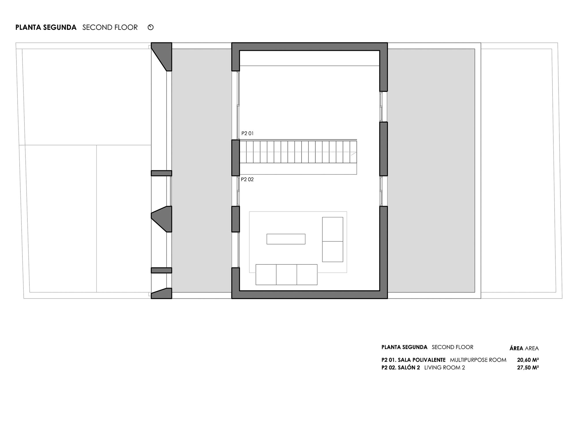 Gallery of brise soleil house rub n muedra estudio de for Plan estudios arquitectura