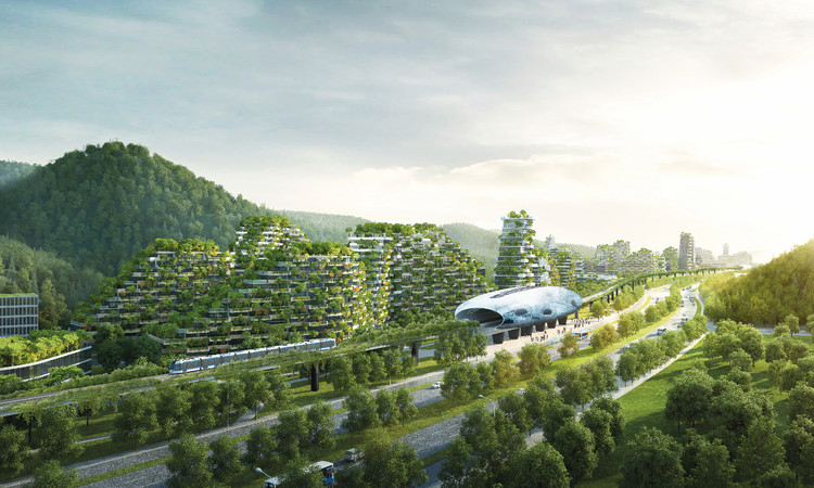 World's First Vertical Forest City Breaks Ground in China, © Stefano Boeri Architetti