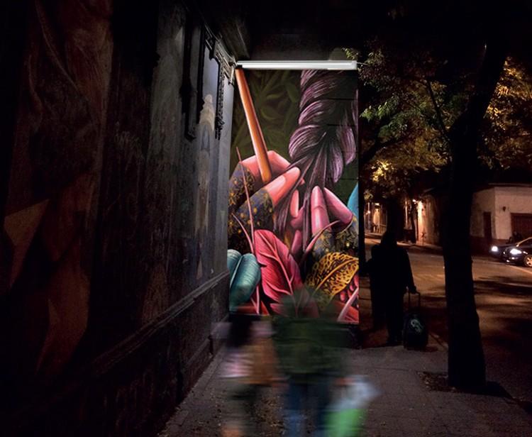 Galería Solar transforma la experiencia nocturna del arte urbano, Cortesía de Metro Veintiuno
