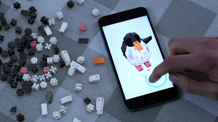 New Digital-Physical Building Block System Aims to Make 3D Modeling Accessible to Children, Courtesy of Kible
