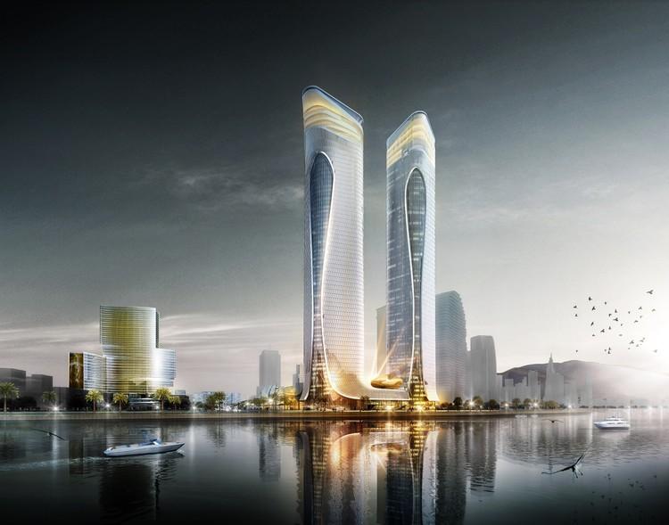 Aedas Unveils Dragon-Inspired Complex Design in Zhuhai, China