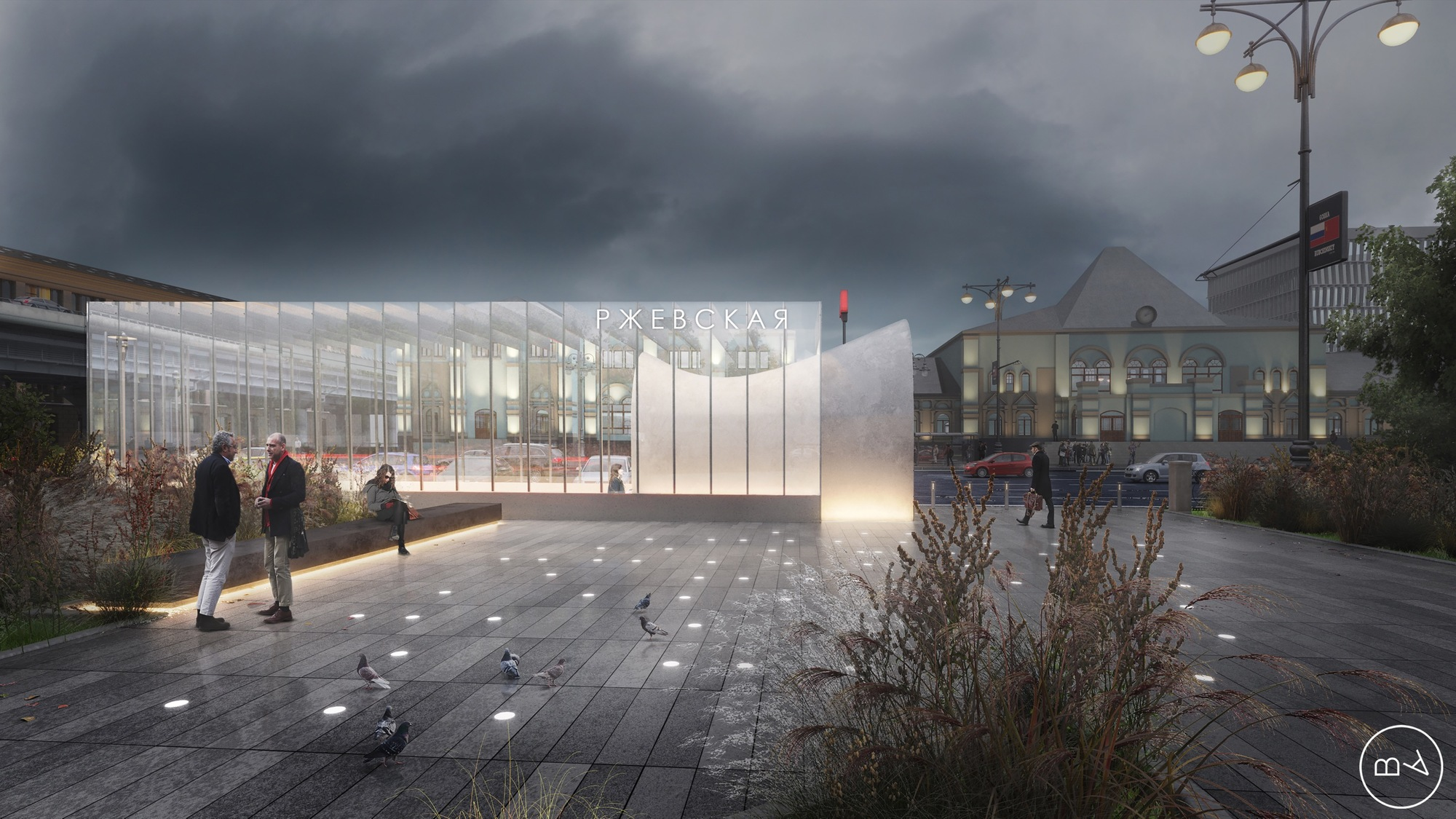 Blank Architects Win Competition To Design Moscow Metro