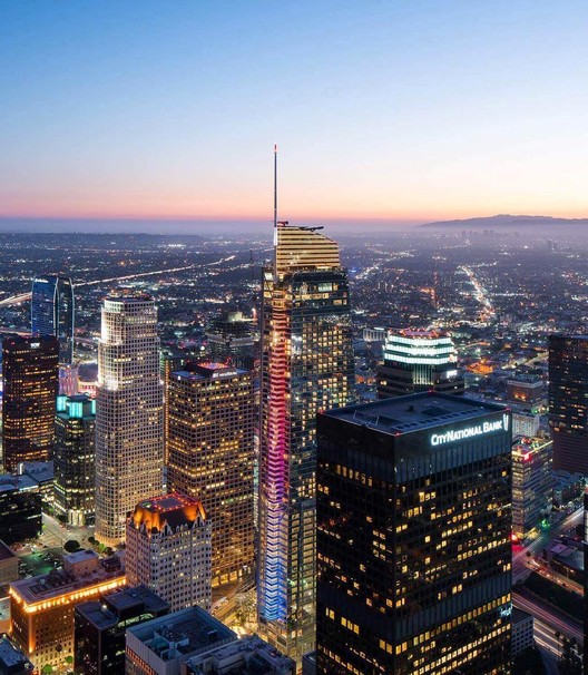 Los Angeles' New Tallest Skyscraper, the Wilshire Grand, Opens to the Public, Via constructdtla