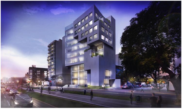 Nueva sede de Colegio de Ingenieros del Perú se construirá bajo estándares de arquitectura sostenible, Cortesía de Estudio Arquitectura & Ciudad