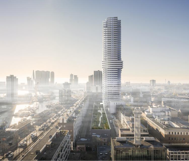 V8 Architects projeta a maior torre residencial de Roterdã, Cortesia de V8 Architects