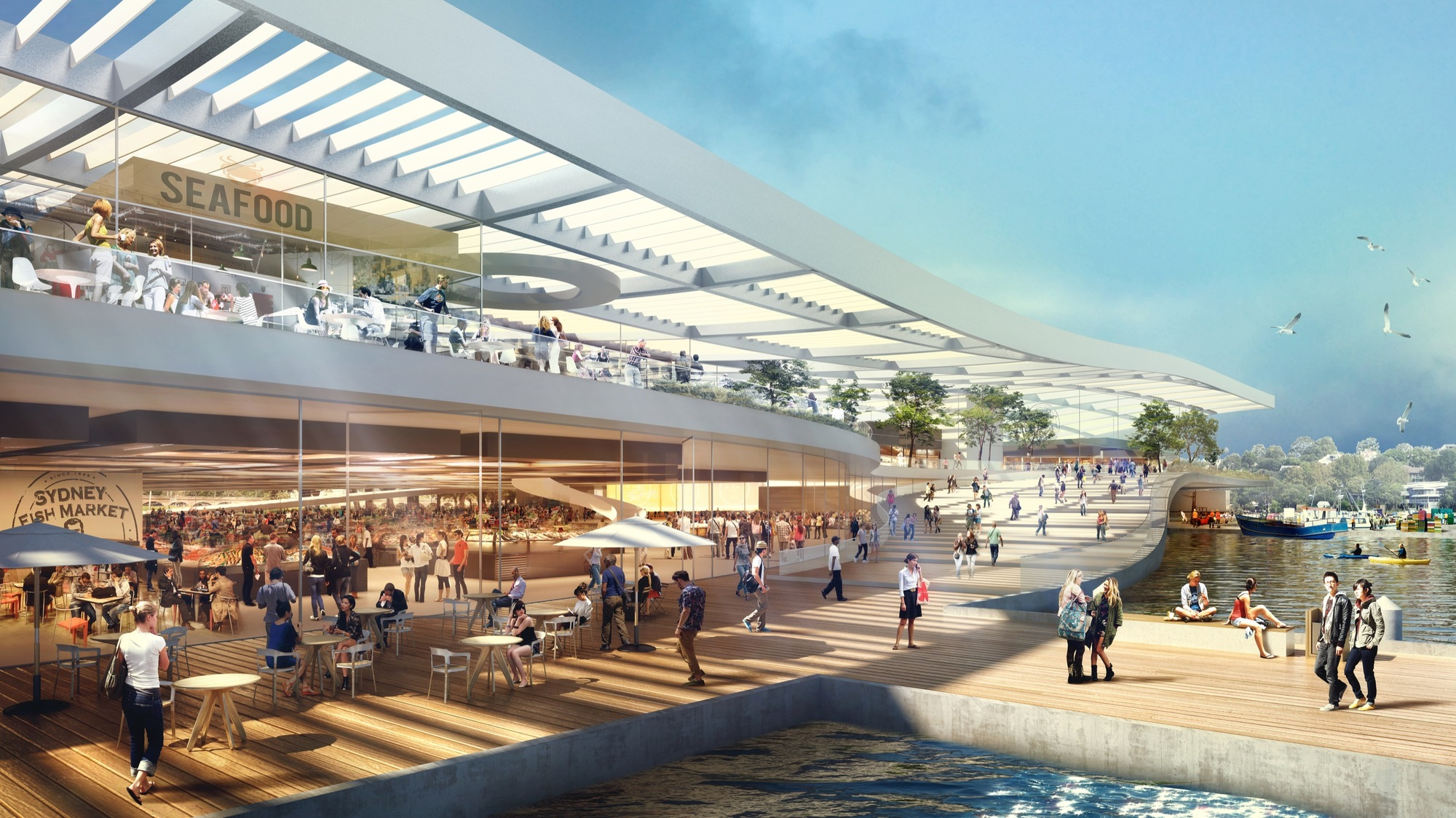3xn to helm design of world 39 s largest fish market in - Architectural designers near me ...