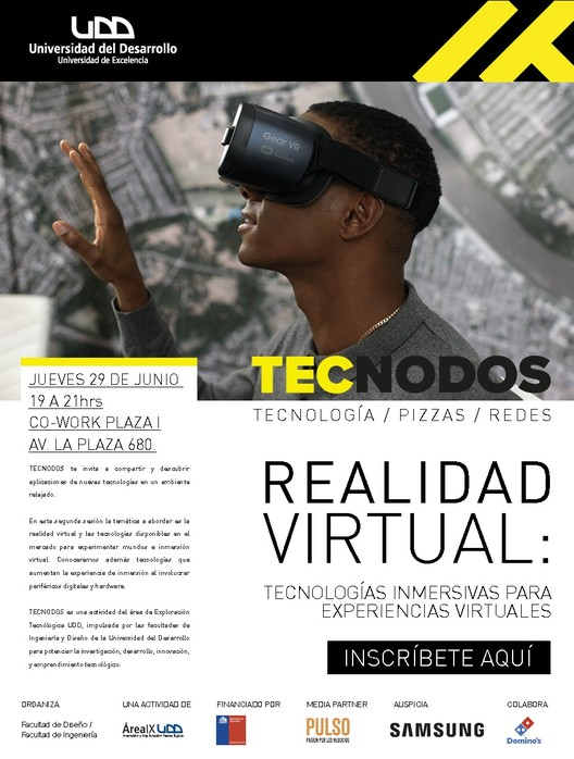 Tecnodos | Realidad Virtual: tecnologías inmersivas para experiencias virtuales, Universidad del Desarrollo