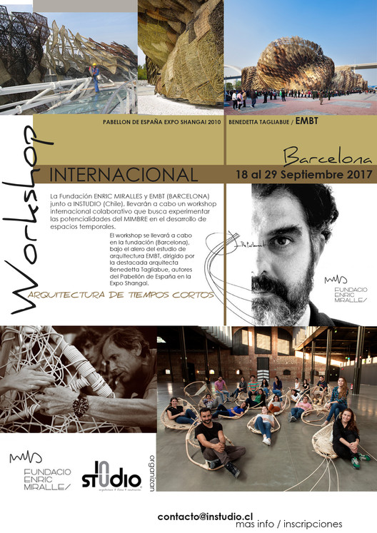 Workshop Internacional Fundación Enric Miralles