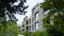 Hammam and Apartements in Patumbah-Park / Miller & Maranta