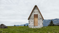 Capilla alpina de Wirmboden / Innauer-Matt Architects