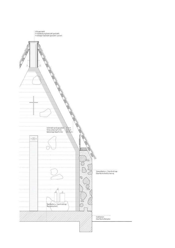 Gallery Of Alpine Chapel Wirmboden Innauer Matt Architects 18