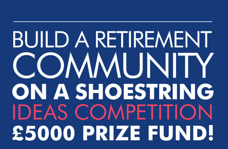 Call for Proposals: Retirement Community on a Shoestring Budget, The cover of the competition briefing document