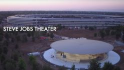 "New Drone Footage Captures Finishing Touches Being Applied to Apple's ""Steve Jobs Theater"""