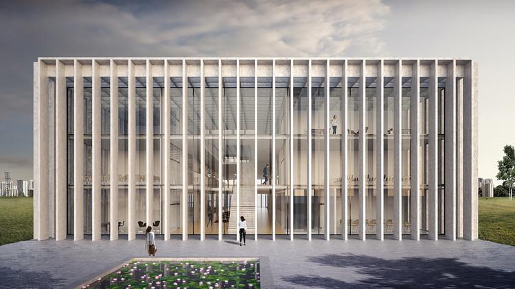 KAAN Architecten + UrbSP Arquitetura divulgam projeto da Faculdade de Medicina de São José dos Campos, © KAAN Architecten