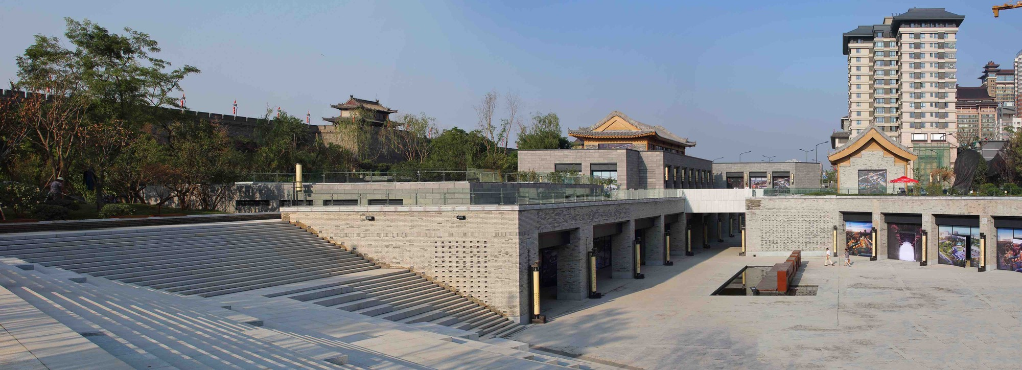 Gallery Of Renovation Of Xi An South Gate Plaza China