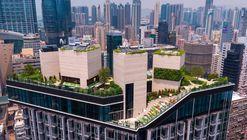 Clubhouse Mongkok Skypark / concrete