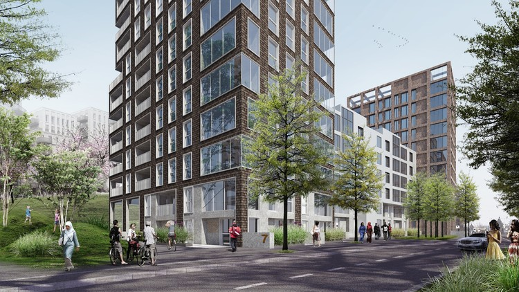 C.F. Møller to Lead Design of Project Replacing Alison and Peter Smithson's Robin Hood Gardens, Courtesy of C.F. Møller Architects