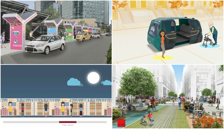 4 Teams Selected to Envision the Future of Autonomous Transit in NYC, via Blank Space