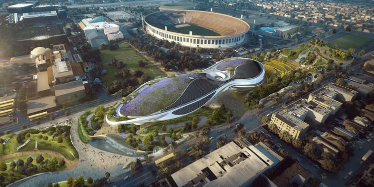 Por votación unánime, Los Angeles aprueba la construcción del museo de George Lucas, Cortesía de Lucas Museum of Narrative Art