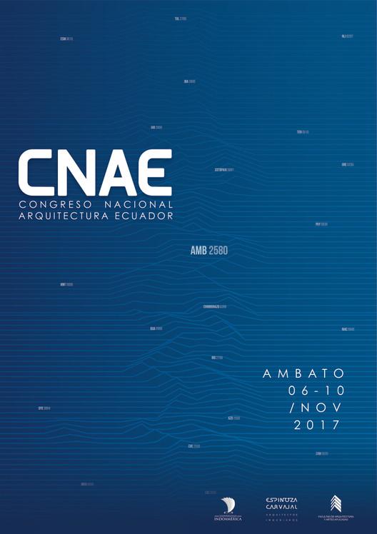 Abren convocatoria de la primera edición del CNAE, el Congreso Nacional de Arquitectura del Ecuador