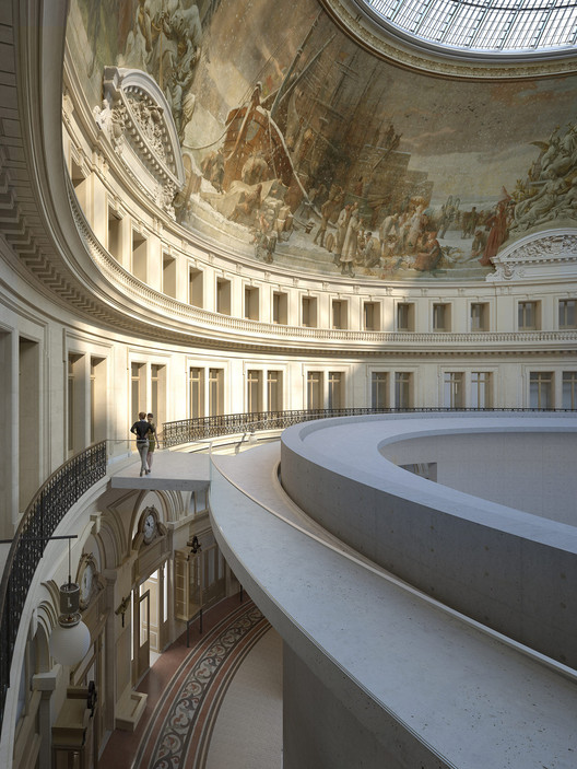 Tadao Ando projeta Museu de Arte no interior de uma estrutura abobadada em Paris, Cortesia de Collection Pinault Paris