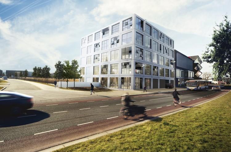 MVRDV Breaks Ground on Creative Office Hub in Amsterdam, Courtesy of MVRDV