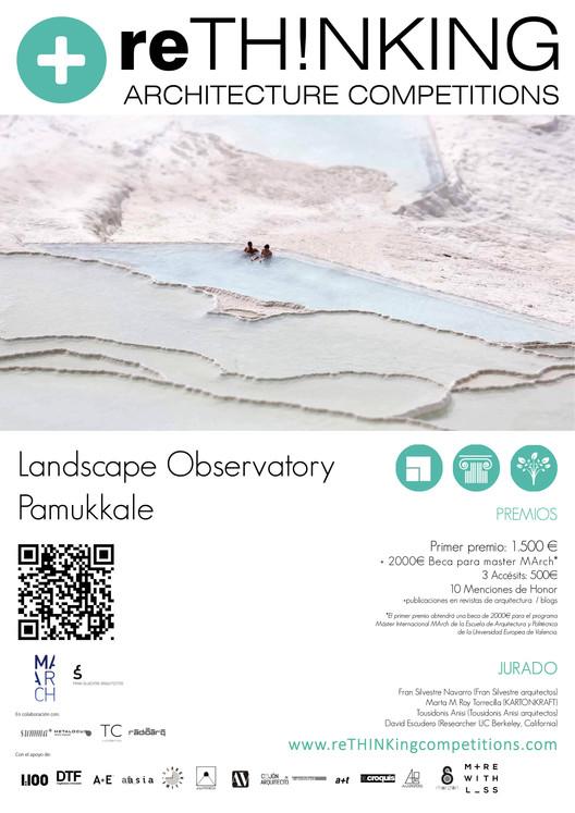 Convocatoria: Landscape Observatory Pamukkale