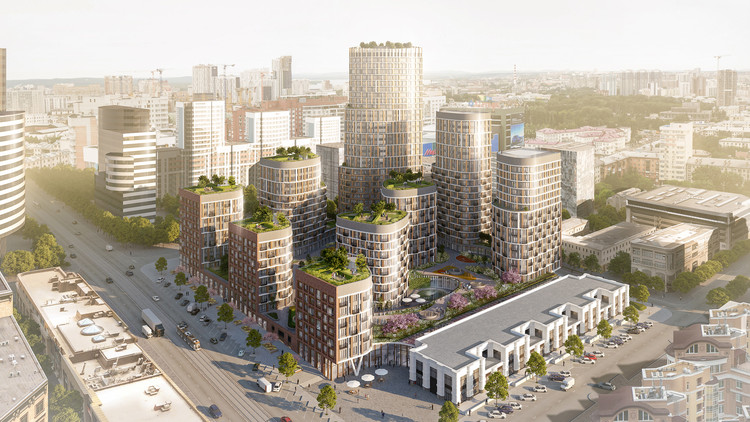 LEVS Architecten Brings New Type of Mixed-Used Development to Russia, Courtesy of LEVS Architecten
