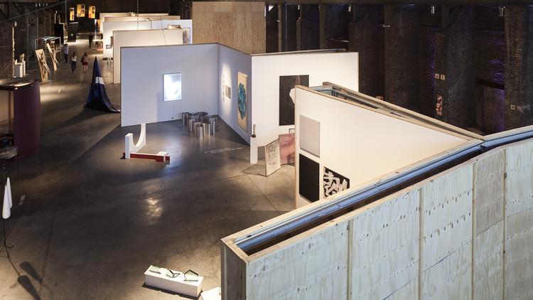 El embalaje como arquitectura en arteBA Focus / Distrito de las Artes, © Javier Agustín Rojas