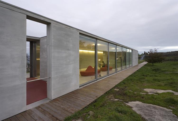 Recepção - Citânia de Santa Luzia  / Paula Santos Arquitectura, © Luís Ferreira Alves