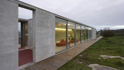 Recepção - Citânia de Santa Luzia  / Paula Santos Arquitectura