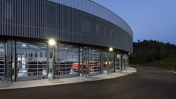 Fire Station for the Sri-Charleroi / SAMYN and PARTNERS