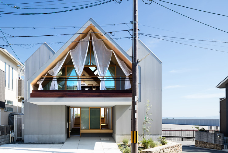 Newtown House / Kohei Yukawa + Hiroto Kawaguchi, © Yohei Sasakura