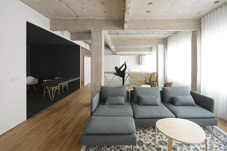 Reconversión de unas Oficinas en Vivienda  / Garmendia Cordero Arquitectos, © Carlos Garmendia Fernández