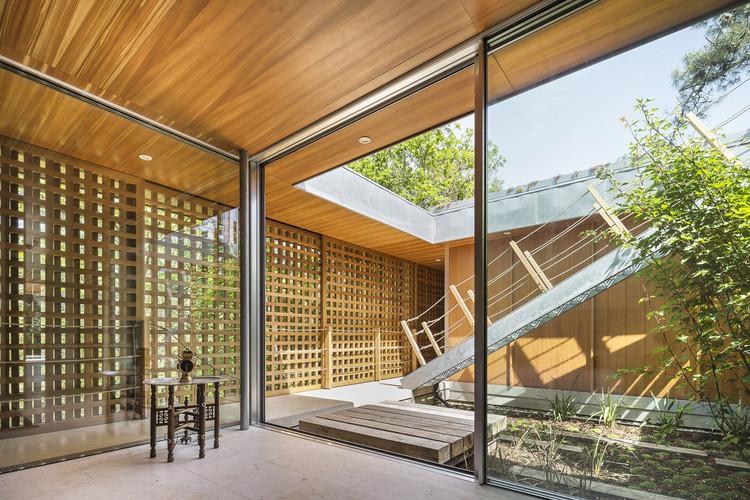 Casa costa sur de landes jean philippe pargade for Architecte hossegor