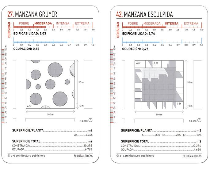 Aprende a diseñar una manzana urbana con este set de 50 cartas, © a+t designing cards