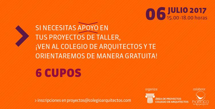 Si quieres corregir tu proyecto, postula a este llamado del Colegio de Arquitectos de Chile, Colegio de Arquitectos de Chile