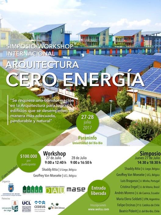 Simposio/Workshop Arquitectura Cero Energía, Worskhop Arquitectura Cero Energía UBB, MHSEE, DAU, MASE