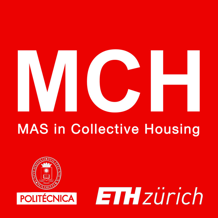 MCH: MAS in Collective Housing, Logo MCH, UPM and ETH