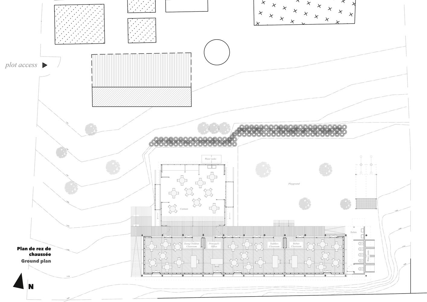 Amazing Silindokuhle Preschool,Ground Floor Plan