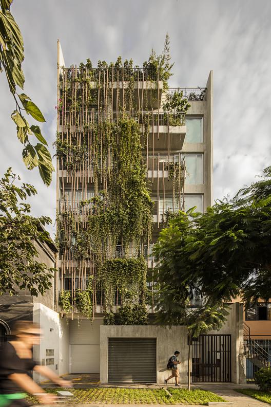 Madreselva Building / Vicca Verde, © Per Thomas